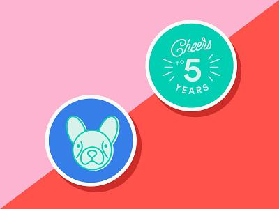 Chatfest Stickers sticker design stickermule sticker vector typography postcard design postcard illustrator illustration flat design color art