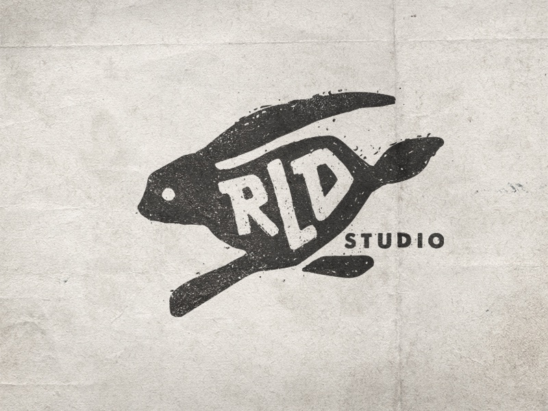 RLD Logo design illustration