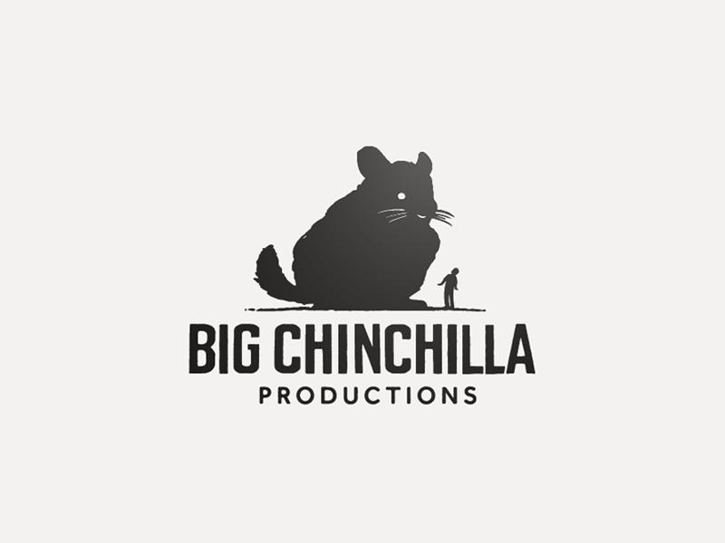 Big Chinchilla Logo design illustration