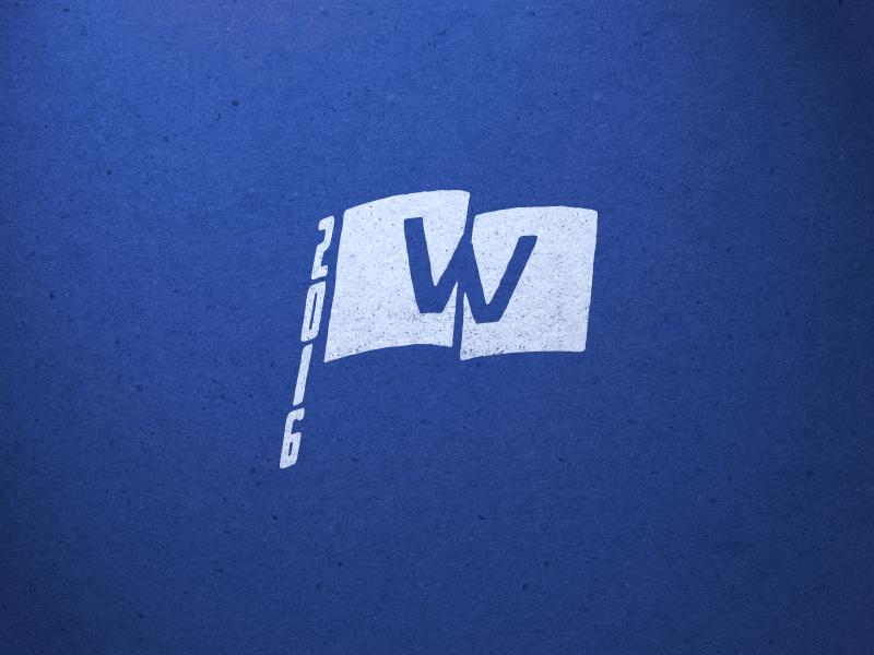 Fly The W design illustration