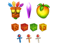 Crash Bandicoot Icons