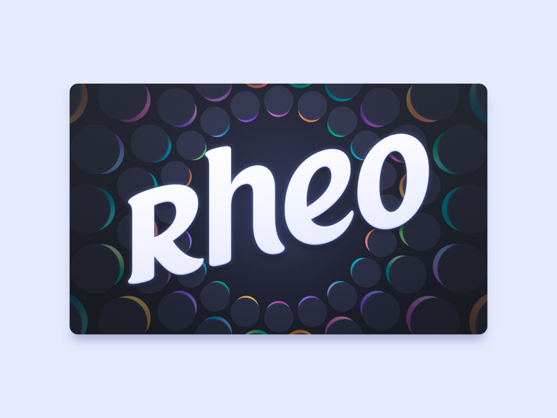 Rheo Apple TV Icon by Parakeet on Dribbble