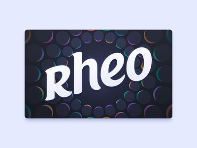 Rheo Apple TV Icon apple tv parallax icon app rheo
