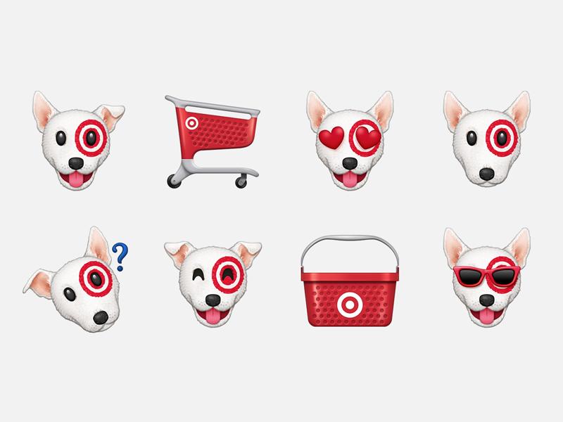 Bullseye Emoji by Parakeet on Dribbble