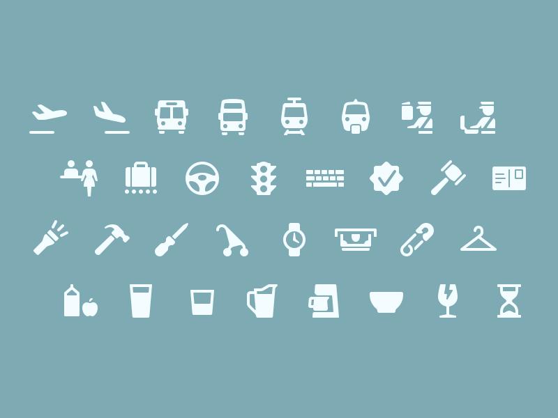 Parakeet Primaries 1.9 kitchen transportation tools travel ios vector set icon icons stock primaries parakeet