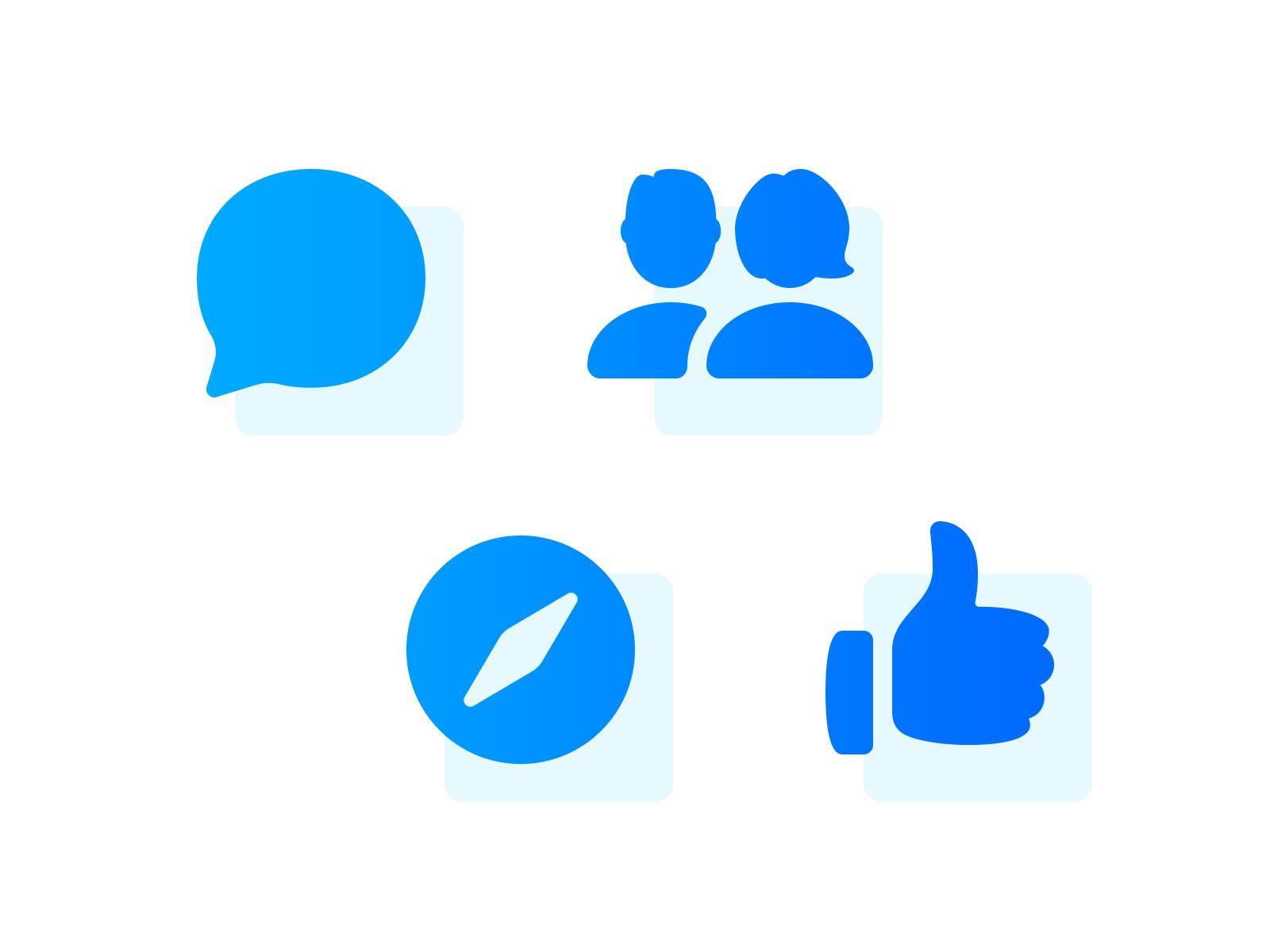 Facebook Messenger Icons like design vector parakeet icons messenger facebook