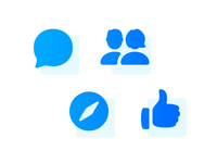 Facebook Messenger Icons