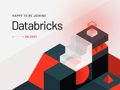 Next Chapter design branding databricks data isometric illustration