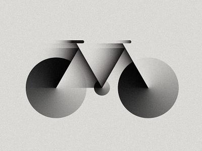 M is for Motion lettering design illustration art experiment bike bicycle gradient digital art