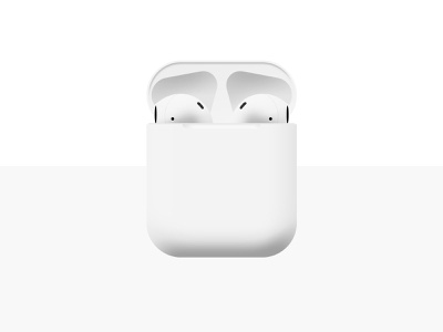 AirPods industrial design gif photoshop art photoshop apple product