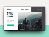 Shoot. Store. Share.