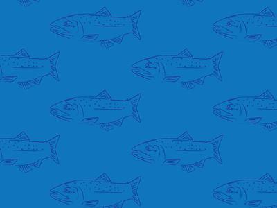 Trout patterns print