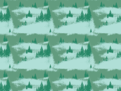 Forest patterns print