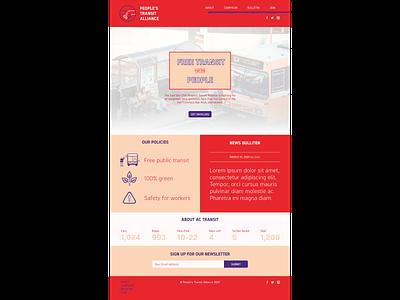 PTA Website dsa branding web