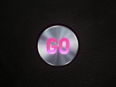 Go button metal