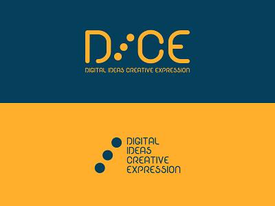 DICE alternative icon branding vector logo lettering art design digital