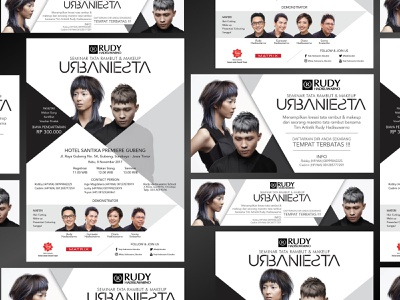 URBANIESTA 2 infographic website banner branding invitation poster flyer logo vector digital design art