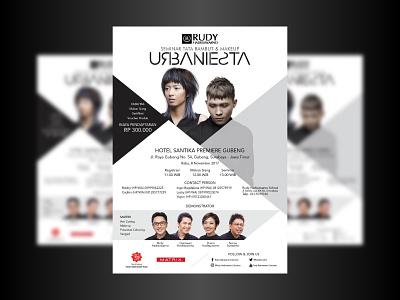 URBANIESTA poster infographic invitation website banner flyer branding logo digital design art