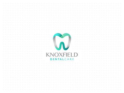 Knoxfield Dental Care stomatology medicine medical teeth oral mint green logo health dentist care dental