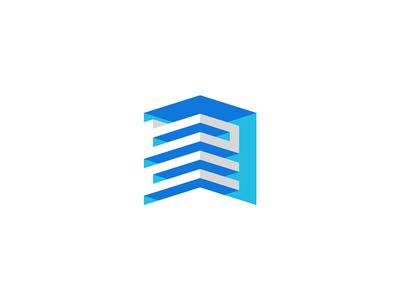 BnC Investment Logo design | cubic | 3D | geometric