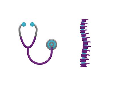 Healthcare doctor health healthcare stethoscope spine
