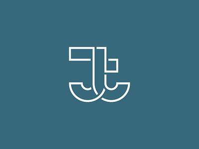 JT Logo Exploration jt outline concept logo-exploration logo-experimentation brand identity branding brand exploration experimentation identity logo
