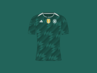 World Cup 2018 Germany Away Shirt