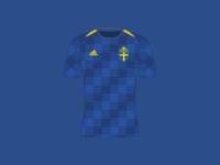 World Cup 2018 Sweden Away Shirt