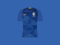 World Cup 2018 Brazil Away Shirt