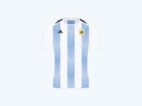 World Cup 2018 Argentina Home Shirt