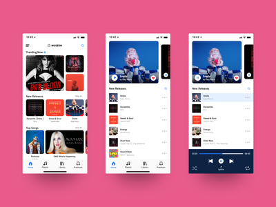 Music App music player phone mobile branding design singers uiux bollywood hollywood english songs music app