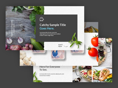 Pitch Deck WIP illustration paper deck pitch food design graphic wip