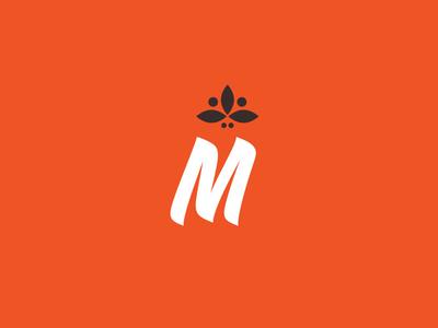 Monument Coffee Mark brand logo lockup illustration design coffee typography type mark icon