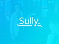 Sully - Your Money Saving Pal. fintech illustration mobile app tech company wip mark graphic branding identity brand typography logo design tech finance