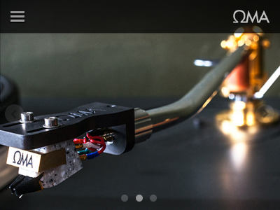 Mobile Gallery & Nav gallery navigation responsive header