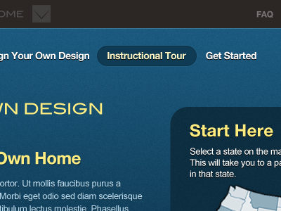 Webapp webapp blue yellow step