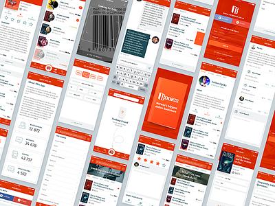Bookis iOS Mobile App app book ux ui mobile design design mobile application ios