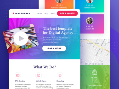 Marketing Agency Wordpress Template