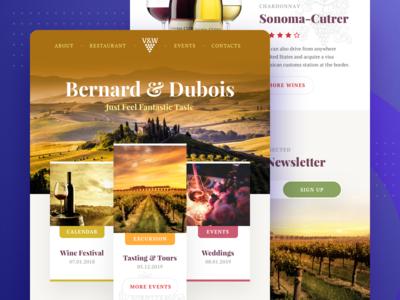 Winery Wordpress Template