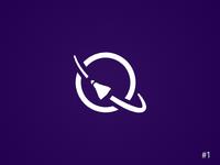 1/50 Daily Logo Challenge | Rocket Ship - Quasar