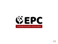 3/50 Daily Logo Challenge | Panda - EPC