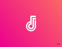 9/50 Daily Logo Challenge | Music Streaming Service - Beatstream