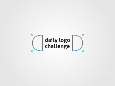 11/50 Daily Logo Challenge |  Daily Logo Challenge Logo nodes curves path handles geometric brand affinity icon vector logo dailylogochallange design branding