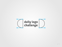 11/50 Daily Logo Challenge |  Daily Logo Challenge Logo