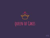 18/50 Daily Logo Challenge | Cupcake Logo