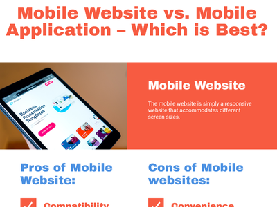 Mobile Website vs. Mobile Application – Which is Best? application doha mobile application development app development company mobile application mobile website website design mobile app development app design