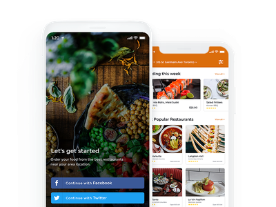 On Demand Food Delivery App Development Company in Doha doha food delivery application food delivery app app development company