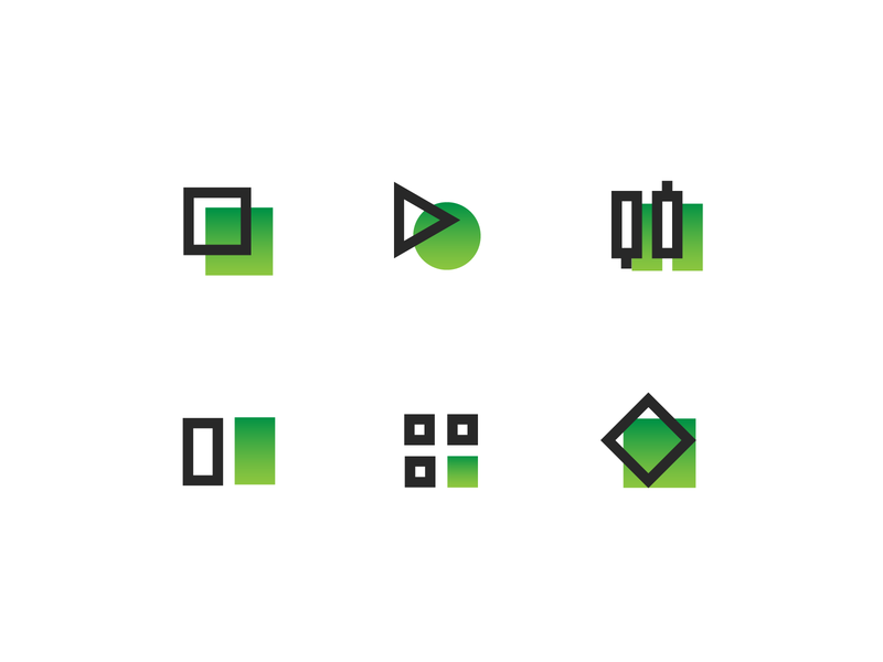 Traders Icons For Apps branding typography clean icons illustration