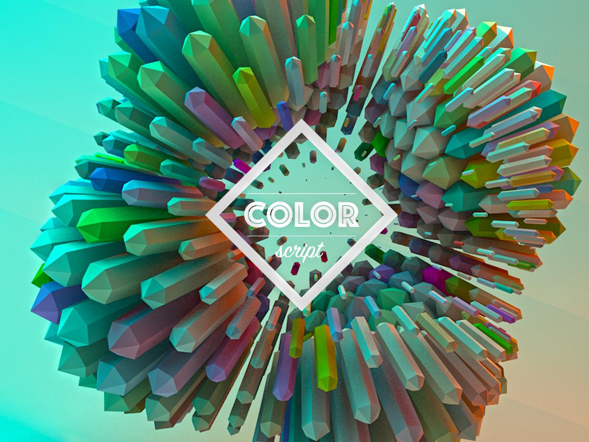 Color Script 1 c4d illustration