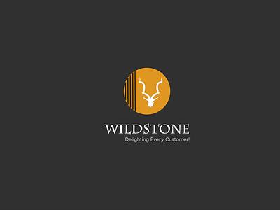 Wild Stone Interior Logo Design illustrator design flat vector branding logo design marhor logo minimalist logo minimalist minimal modern logo modern logo